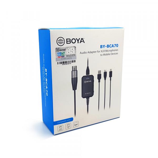 BOYA BY-BCA70 XLR-audioadapter