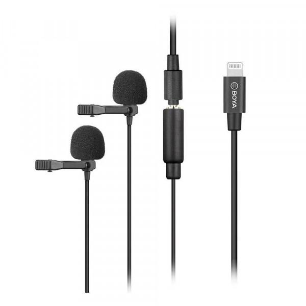 BOYA Duo Ansteck mikrofon BY-M2D voor iOS