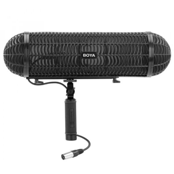 BOYA BY-WS1000 windkap met anti shock microfoon-ophanging