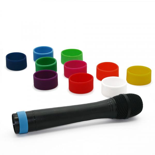 Codeerringen multicolour (L) voor draadloze microfoons