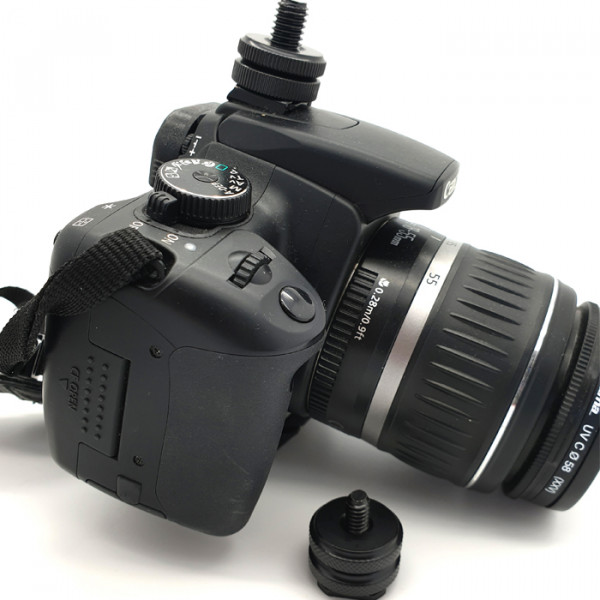 Hotshoe (Coldshoe) DSLR / camera adapter voor microfoon