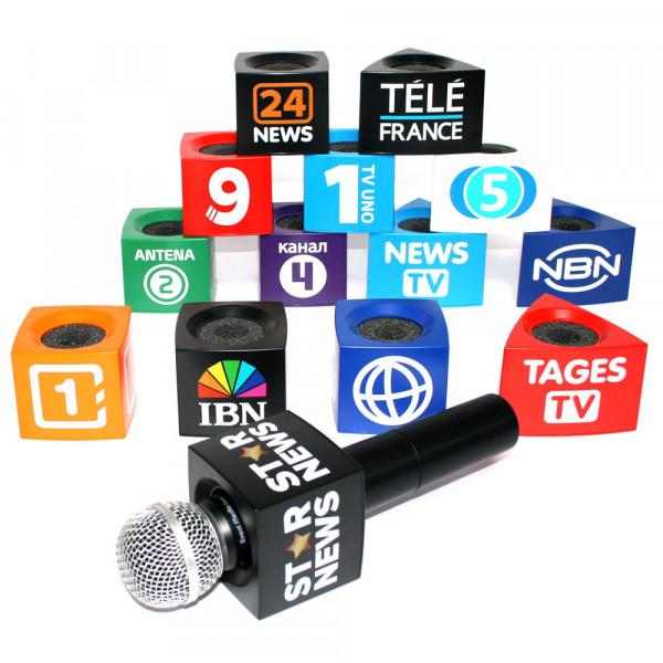 Fiktive Sender Mikrofonwürfel