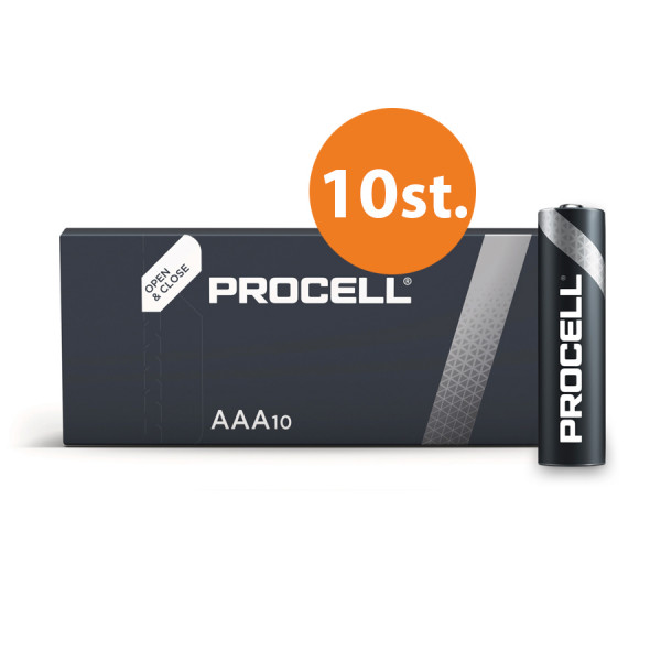 Duracell Industrial AAA Batterie (10St.)