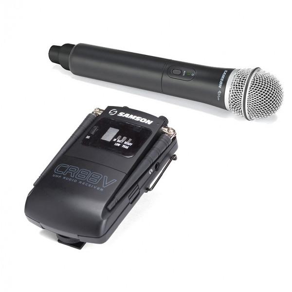 SAMSON Concert 88 mit handheld Q8 Mikrofon
