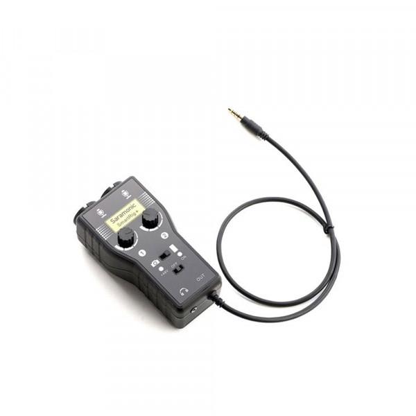 Saramonic Microfoon Adapter SmartRig+ voor DSLR en Smartphone (iOS/Android)