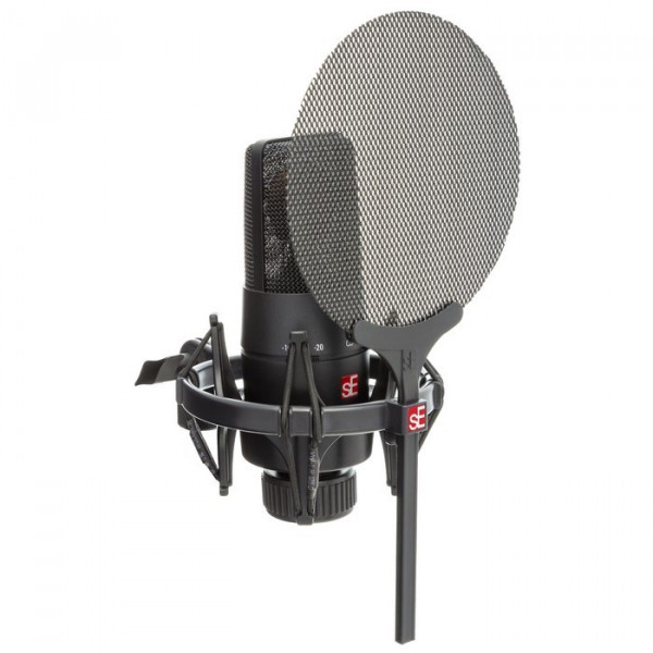 X1 S Vocal Pack: X1S studiomicrofoon en Isolation pack (shockmount + popfilter)