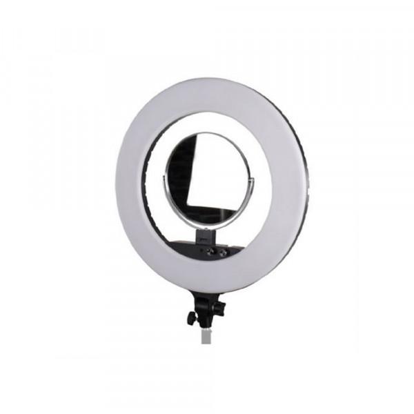 StudioKing LED Ringlampe Set LED-480ASK auf 230V