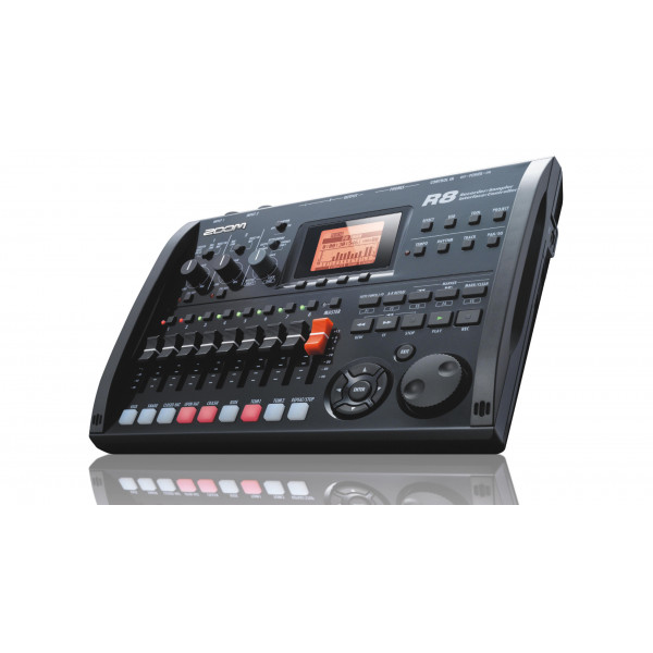 ZOOM R8 recorder - audio Interface - controller - sampler
