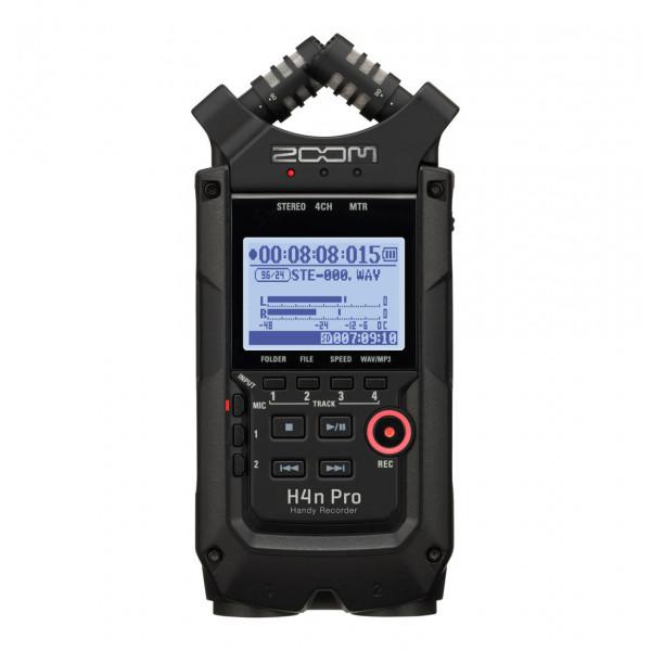ZOOM H4n Pro black recorder handheld