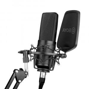 BOYA BY-M1000 Kondensatormikrofon mit großer Membran