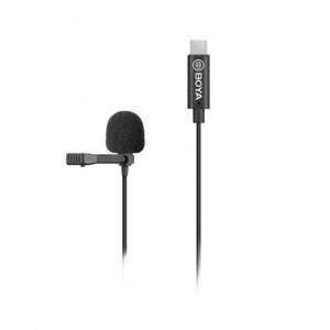 BOYA BY-M3 clip-on lavalier microfoon voor USB-C