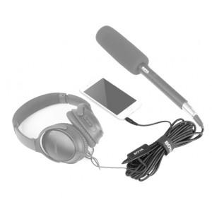 BOYA BY-BCA6 XLR auf 3,5 mm TRS Mikrofonadapter