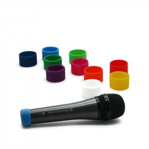 Farbige Codierungsringe (M) für handheld Mikrofone