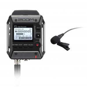 ZOOM F1-LP field recorder mit Lavalier Mikrofon