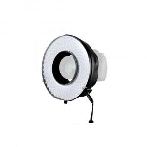 Falcon Eyes DVR-240DF LED-Ringlampenset Dimmbarer (auf Batterie/230 V)