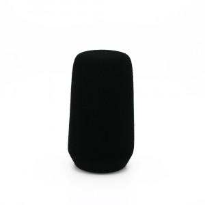 FC4102 Richtrohr schwarz Beflockt