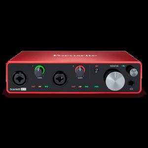 Focusrite Scarlett 4i4 audio-interface (3rd gen)