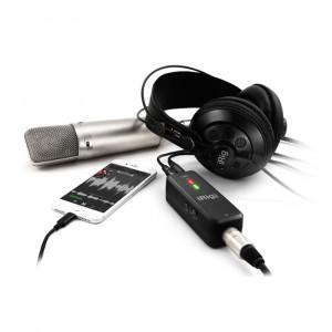 IK iRig Pre HD Mikrofon-Interface für Mobilgeräte und Computer
