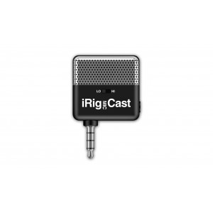 IK iRig Mic Cast Mikrofon - Kompakte Größe