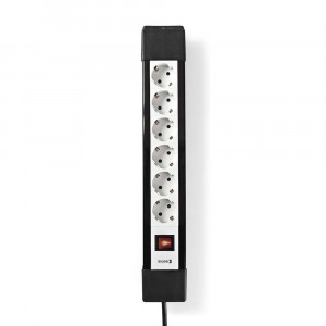 Nedis Pro Line Steckdosenleiste mit geschütztem Kontakt (6-Wege)