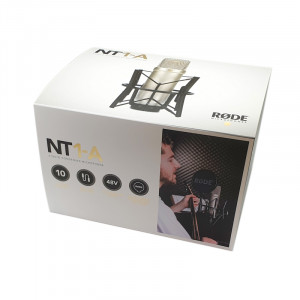 RODE NT1-A Kondensatormikrofon studioset