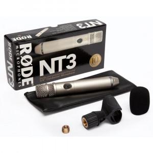 RODE NT3 Mikrofon Silber
