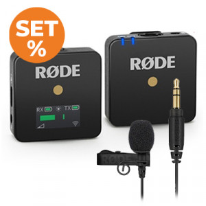 RODE Wireless GO + Lavalier SET