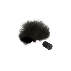 RYCOTE Black Lavalier Windjammer - single