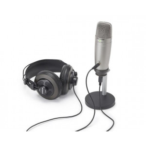 Samson C01U Pro Podcasting Pack mit USB Kondensatormikrofon