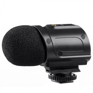 Saramonic SR-PMIC2 Mini Stereo Condensator Microfoon