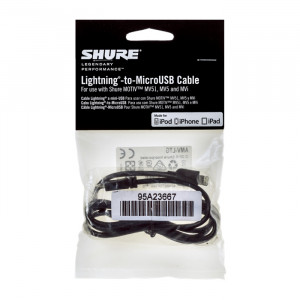 Shure AMV-LTG Kabel Lightning zu MicroUSB