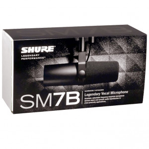 Shure SM7b studio Mikrofon
