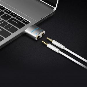 Vention 3,5-mm-Audioadapter TRRS (Mikrofoneingang / Kopfhörerausgang)