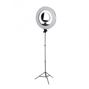 StudioKing Ringlampenset LED-480ASK mit Stativ