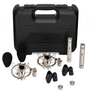 Warm Audio WA-84-C-B-ST kleinmembraan condensatormicrofoon (stereopaar)