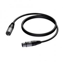 Procab PRA901 PRIME XLR Mikrofonkabel 3m