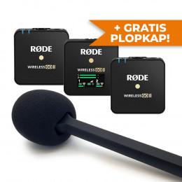 OP=OP! RODE Wireless GO II + Interview GO + GRATIS plopkap