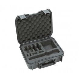 SKB iSeries 3I-1209-4-BH2 Wasserdichtes Gehäuse für drahtlose Sennheiser AVX-Mikrofonsysteme