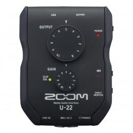 ZOOM U-22 mobile Aufnahme- und Leistungsschnittstelle